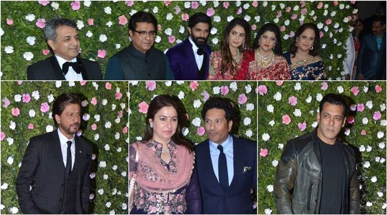 Politicians; Celebs Attend Amit Thackeray-Mitali Borude Wedding