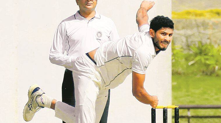 Learning to bowl Test-match length has done wonders for me: Basil Thampi