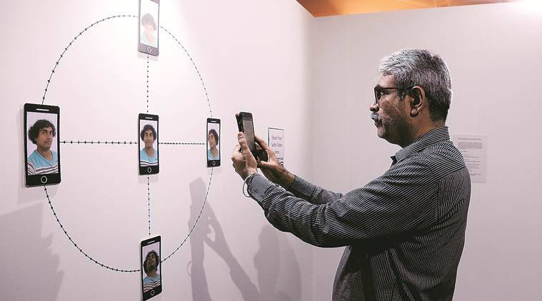 The Future Is Here,The Future Is Here exhibition,The Future Is Here exhibition mumbai, mumbai exhibition on digital technology, digital technology exhibition,Sunaina Kejriwal,Arshiya Lokhandwala, Exhibitions in mumbai, indian expres, latest news