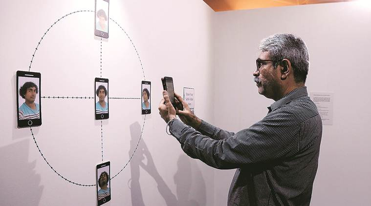 The Future Is Here, The Future Is Here exhibition, The Future Is Here exhibition mumbai, mumbai exhibition on digital technology, digital technology exhibition, Sunaina Kejriwal, Arshiya Lokhandwala, Exhibitions in mumbai, indian expres, latest news
