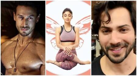 tiger shroff, shilpa shetty, varun dhawan social media videos