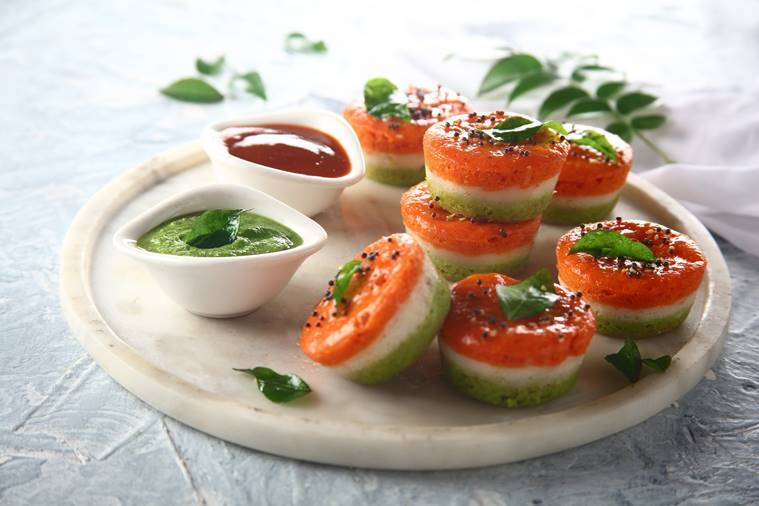 Republic Day listing, tricolour-themed food