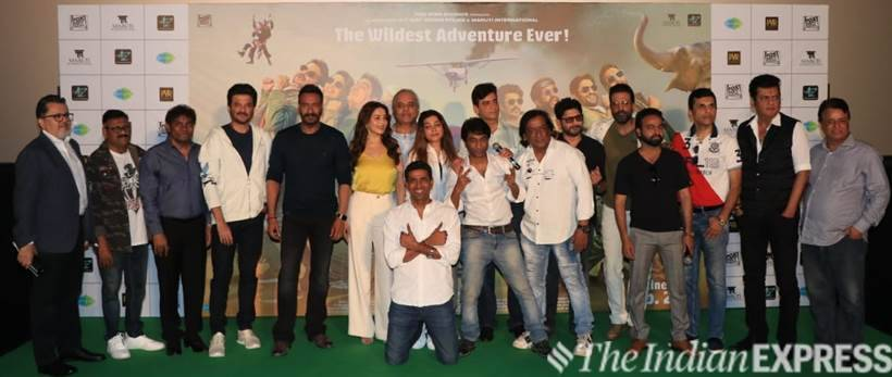total dhamaal team photo