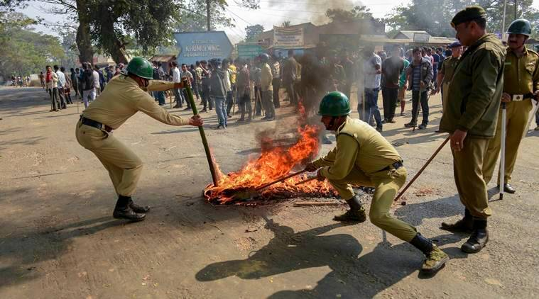 Citizenship Bill protests: Tripura CPI (M), Congress demand inquiry into Madhabbari clashes, tribal parties to hold strike Saturday