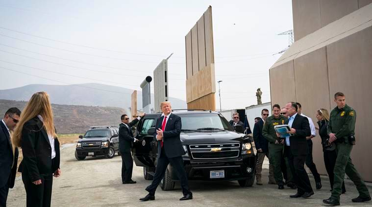 The border wall: How a potent symbol is now boxing Trump in