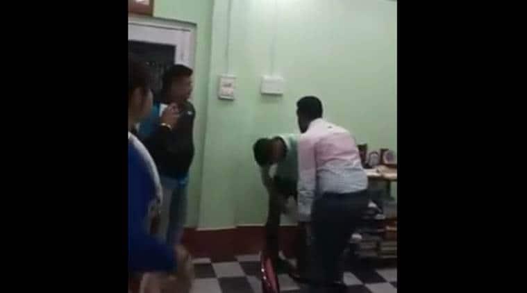 West Bengal: DM, wife 'assault' man inside police station, video goes viral