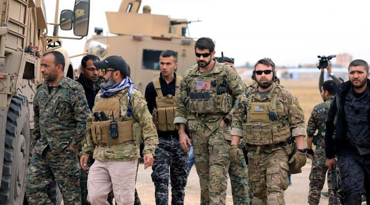 USA  troops begin to withdraw from Syria, report says