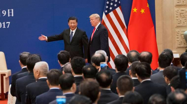 donald trump, donald trump xi jinping, US China, US China trade talks, Trump Xi Jinping trade talks, indian express