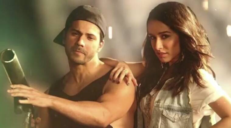 varun dhawan and shraddha kapoor in ABCD 3