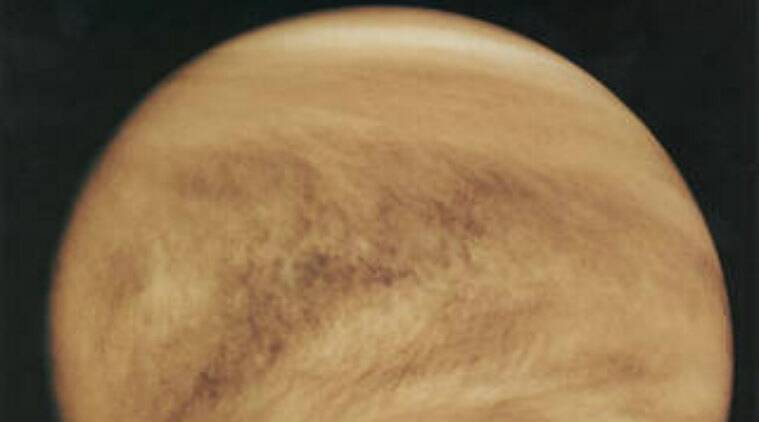 Giant pattern discovered in clouds of Venus