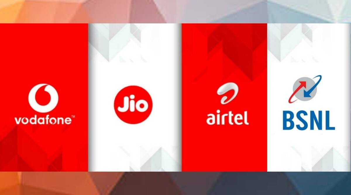 Reliance Jio Airtel Vodafone And Bsnl Check The Best Annual Prepaid Tariff Plans Here Technology News The Indian Express