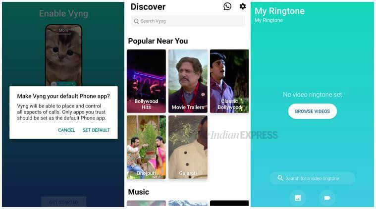 Vyng, Vyng app, Vyng video ringtone app, video ringtone, how to set video ringtone, Vyng Android app