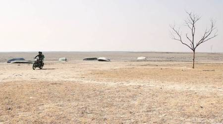 Near Ahmedabad, Livelihoods Dry Up With A Dried Wetland