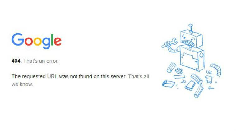 QnA VBage Gmail appears to be down in India, parts of Europe; users get 404 error