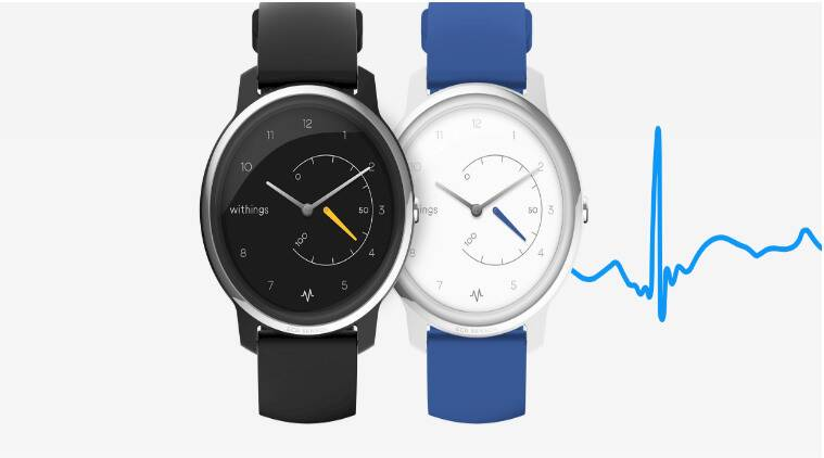 Withings, Withings ecg watch, Withings ecg analog watch, Withings Move ECG, Withings announced at CES 2019, Withings ecg watch price in India, Withings ecg watch specifications, Withings CES 2019, ces 2019