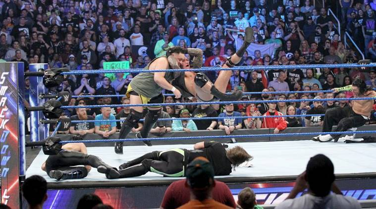 Brawl on WWE Smackdown Live