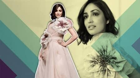 Gauri & Nainika Show, Yami Gautam, Yami Gautam lakme fashion week 2019, Yami Gautam Gauri & Nainika, Gauri & Nainika lakme fashion week 2019, lakme fashion week 2019, Gauri & Nainika summer resort collection, Gauri & Nainika spring/summer 2019, lakme fashion week spring/summer 2019, celeb fashion, bollywood fashion, indian express, indian express news