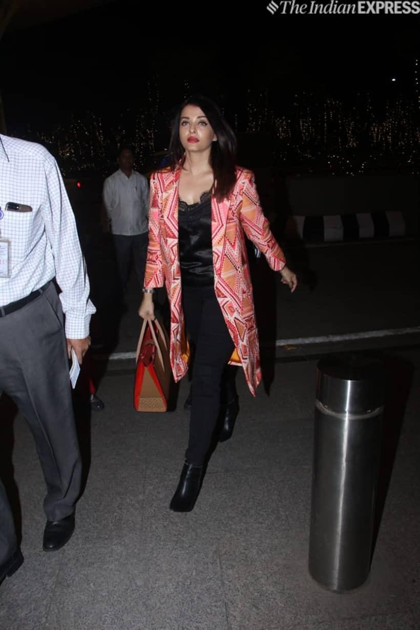 aishwarya rai bachchan at airport