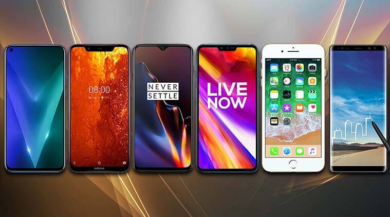 OnePlus 6T, Nokia 8.1, Huawei View20, phones under Rs 50,000, best mobiles abover Rs 35,000, phones under 50k india, mobiles under Rs 50,000, Apple iPhone 7 Plus price in India, OnePlus 6T price, LG V40 ThinQ, Samsung Galaxy Note 8, OnePlus 6T price in India, iPhone 7 Amazon price