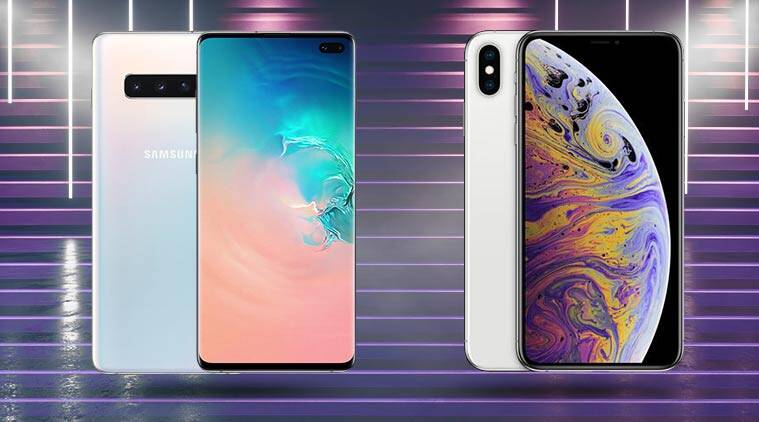 Samsung Galaxy S10, Samsung Galaxy S10 Specifications, Samsung Galaxy S10+, Samsung Galaxy S10+ Specifications, Galaxy S10+ Specifications, Galaxy S10+, Apple iPhone XS Max vs Galaxy S10+, iPhone XS Max vs Galaxy S10+ Comparison, iPhone XS Max vs Galaxy S10+ Specifications, Apple iPhone XS Max vs Galaxy S10+ Price, iPhone XS Max vs Galaxy S10 Plus. Apple iPhone XS Max vs Galaxy S10 Plus Specifications, iPhone XS Max vs Galaxy S10 Plus Comparison, Galaxy S10 Plus, Galaxy S10 Plus Specifications, Galaxy S10 Plus Price in India, Galaxy S10 Plus Price, Apple iPhone XS Max vs Samsung Galaxy S10+, Apple iPhone XS Max vs Samsung Galaxy S10+ Specifications, Apple iPhone XS Max vs Samsung Galaxy S10+ Comparison