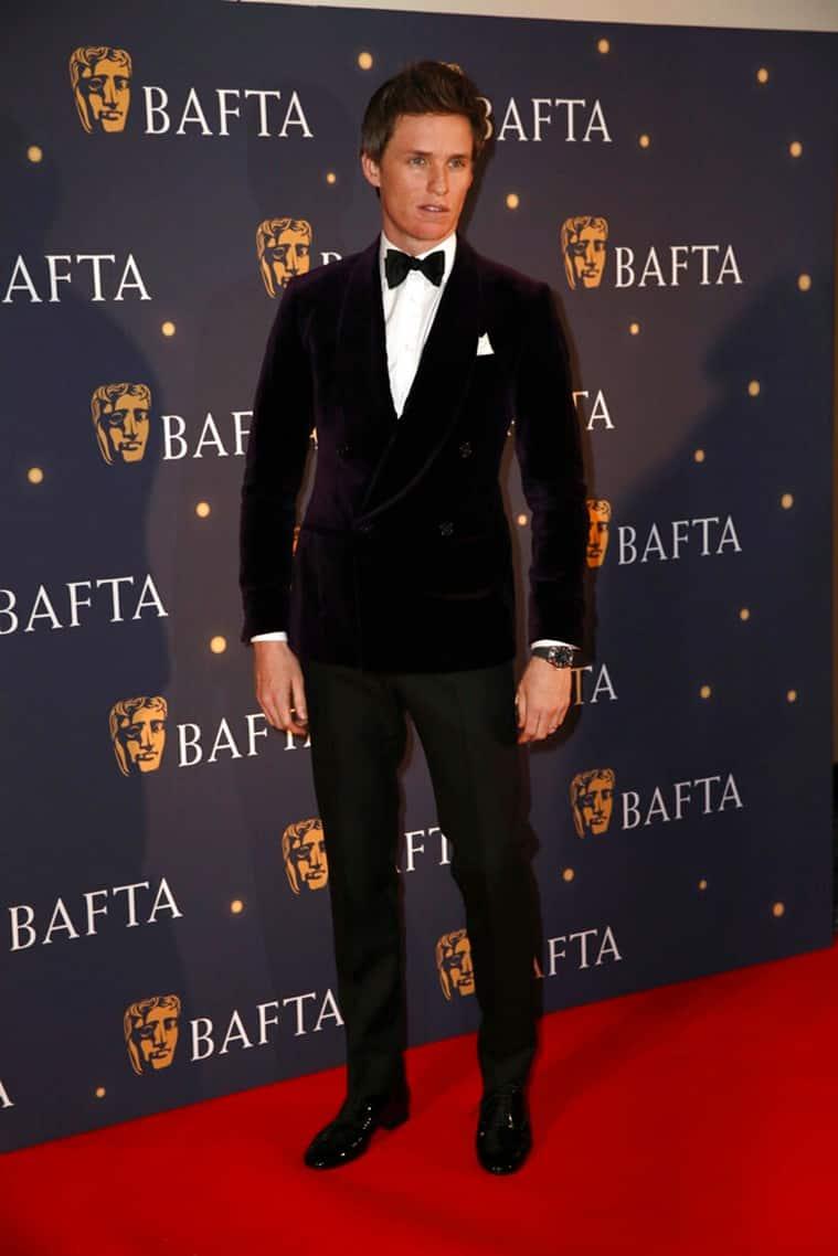Eddie Redmayne at BAFTA