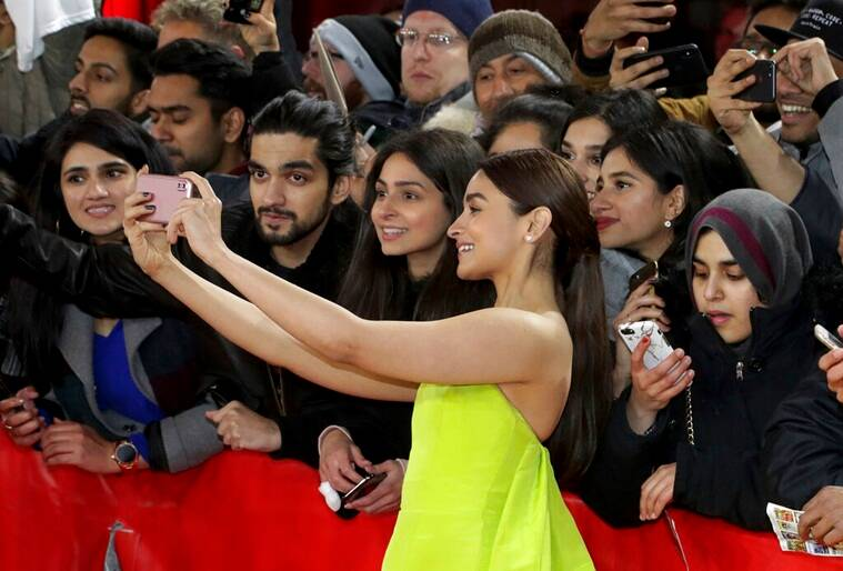 Alia Bhatt at berlinale film festival for premiere of gully boy