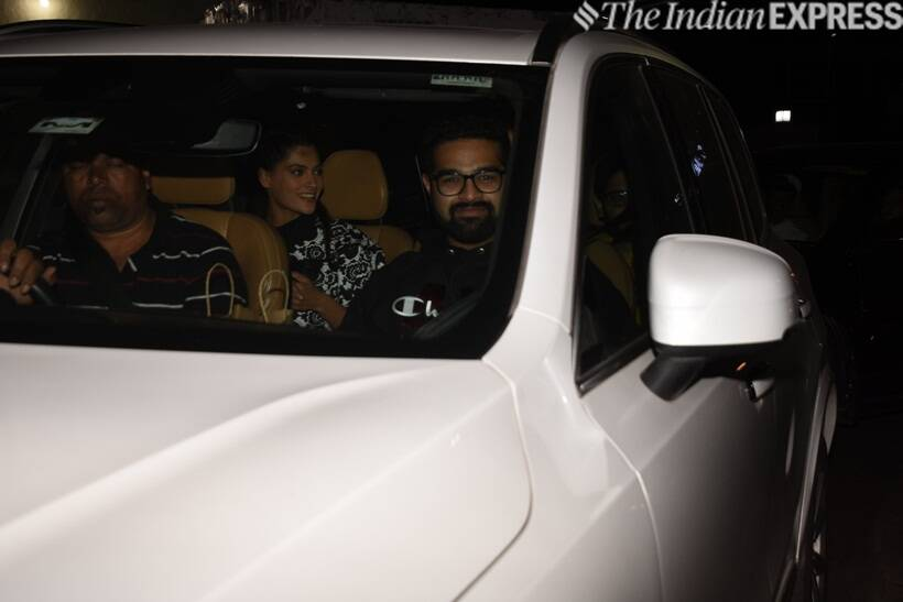 Saiyami Kher at Gully Boy screening