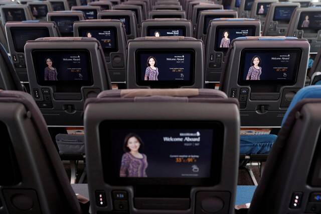Inflight entertainment screens