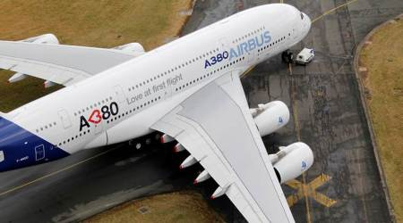 Airbus A380, the world's largest jetliner