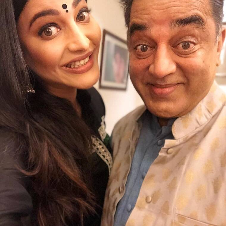 shruti haasan and kamal haasan
