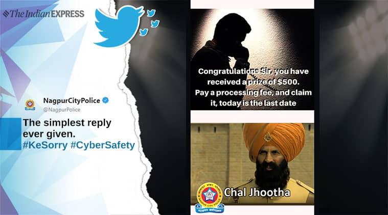 'chal Jhootha': Nagpur And Jaipur Police Join Kesari Trailer Meme-fest