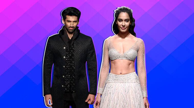 lakme fashion week, lakme fashion week 2019, lakme fashion week showstopper, lakme fashion week aditya roy kapoor, lakme fashion week lisa haydon, kunal rawal, shriya som, indian express, indian express news