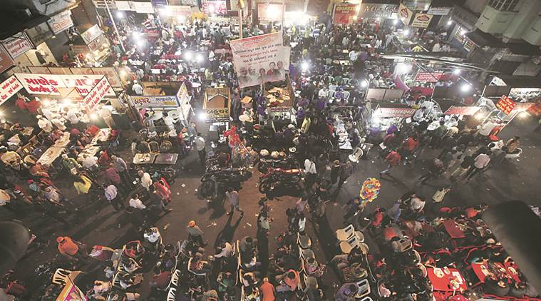 gujarat government, shops, eateries, shops and establishments act, night shifts, women, women workers, narendra modi, business, gujarat assembly, gujarat news, indian express news