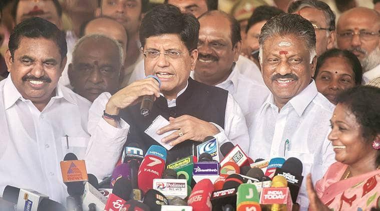 Bjp Seals Lok Sabha Deal With Aiadmk, Gets Five Seats In Tamil Nadu