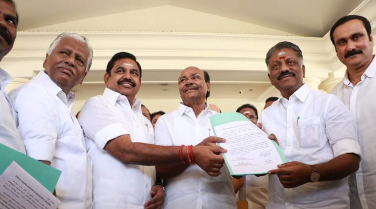2019 Lok Sabha polls: Ramadoss gets 7 seats as AIADMK seals pact with PMK in Tamil Nadu
