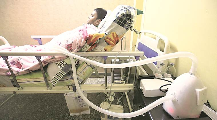 In a first, 19-year-old will live at home with portable ventilator