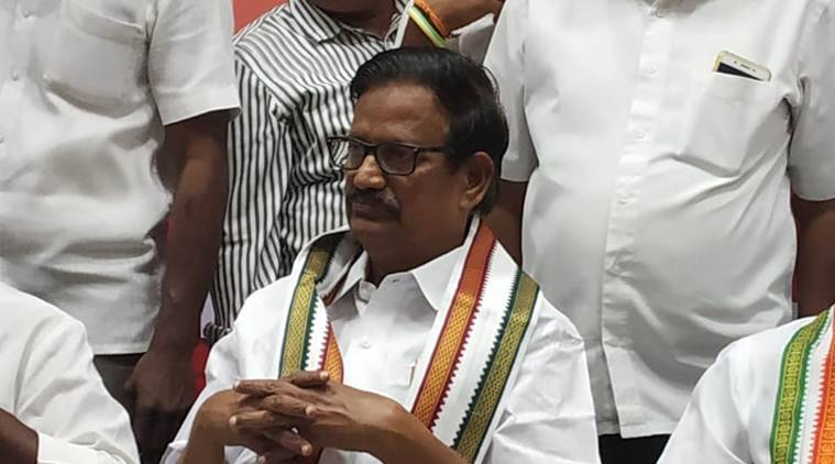 """""""All secular parties decided to join together to save the nation. Our country is losing sovereignty under the BJP government,"""" the Tamil Nadu Congress chief said."""