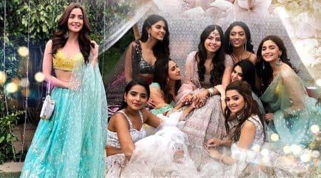 Alia Bhatt, Alia Bhatt friend wedding, Alia Bhatt anita dongre