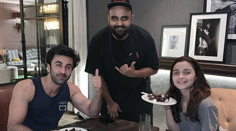 Alia Bhatt, Ranbir Kapoor Valentines Day dinner photo