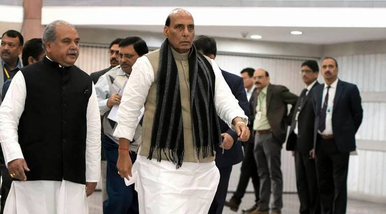 balakot airstrike, rajnath singh, india, pakistan, congress, bjp, terrorists, indian express news