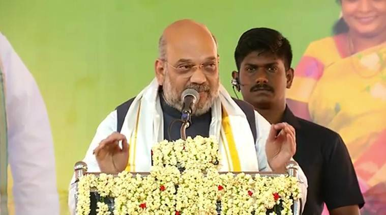 Dmk-cong Equal To Corruption, Bjp And Nda Stand For Development: Amit Shah In Tamil Nadu