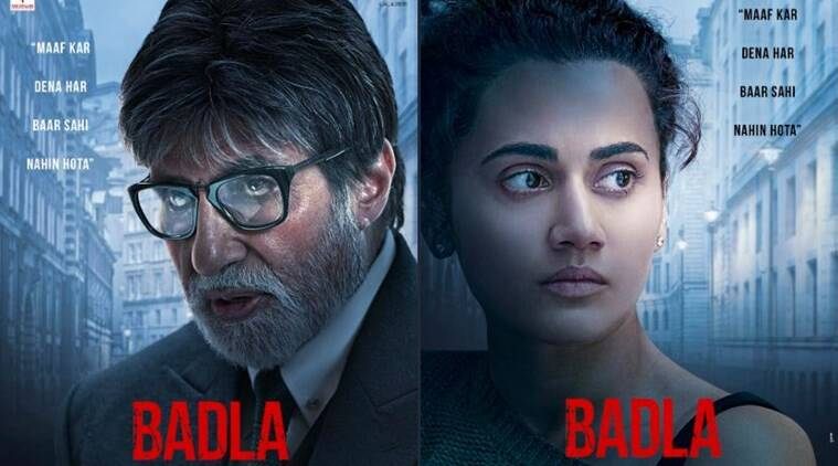 badla amitabh bachchan and taapsee pannu box office collection Day 16
