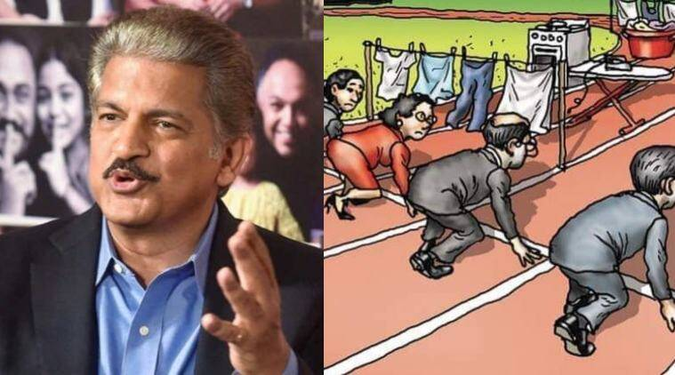 anand mahindra working mother parenting