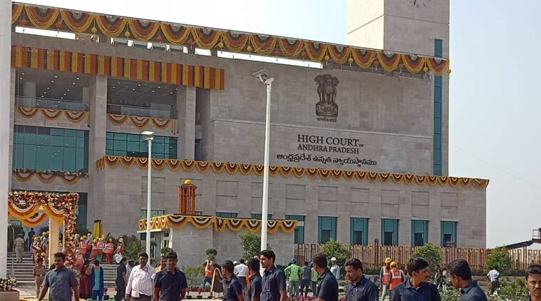 ranjan gogoi, chief justice of india, pending court cases, judiciary, andhra pradesh, andhra pradesh high court complex, amravati, n chandrababu naidu, indian express news