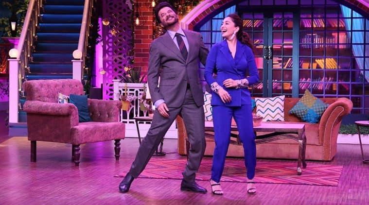 Madhuri Dixit Anil Kapoor The Kapil Sharma Show