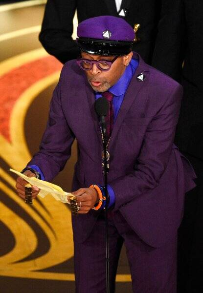 spike lee at the oscars