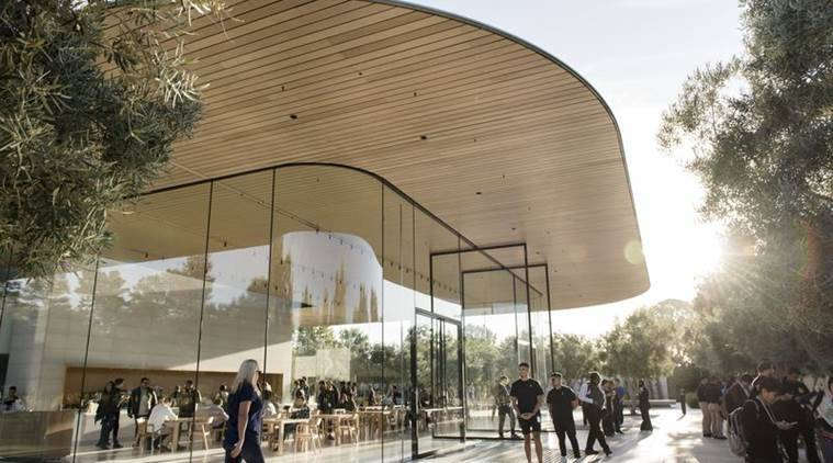 apple, apple campus, los angeles, california, apple black site, cupertino, silicon valley, sunnyvale, hammerwood avenue, microsoft, tech news, indian express news