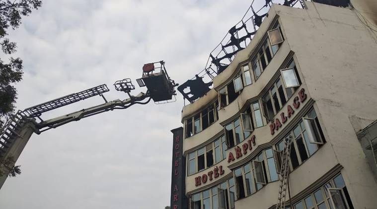 Karol Bagh hotel fire LIVE updates: Nine dead, rescue operations underway