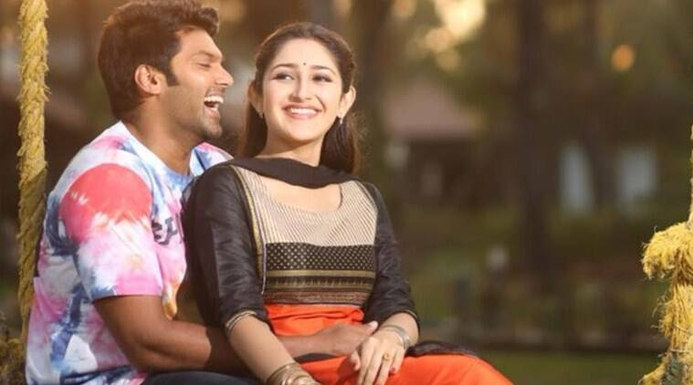 arya announces wedding with sayyeshaa