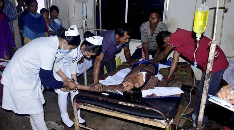 Assam hooch toll up to 114, deaths across villages in two districts